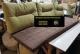 Матрас и подушки холлофайбер 2000х600мм, фото 3