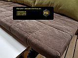 Матрас и подушки холлофайбер 2000х600мм, фото 4