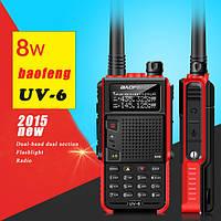 Новая 8-ми ватная рация - Baofeng UV-6