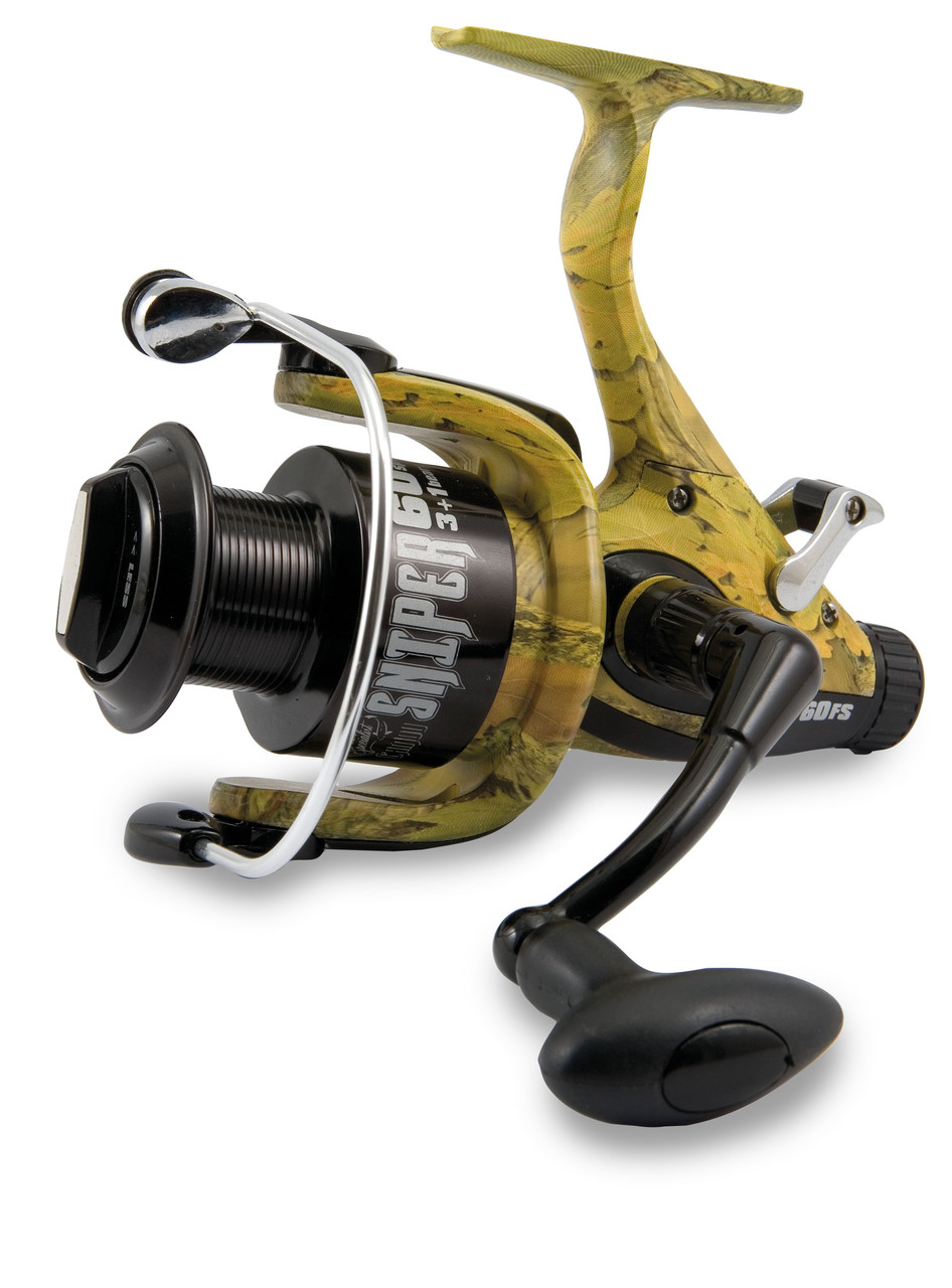 Катушка Lineaeffe Baitrunner TeamSpecialist Camou Sniper 60