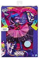Кукла Твайлайт Спаркл Искорка Платье делюкс My Little Pony Equestria Girls  Deluxe Dress Twilight Sparkle, фото 1