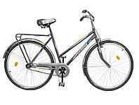 """Велосипед 28"""" ХВЗ УКРАИНА LUX, мод 65 серый (чешская втулка)"""