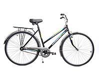 """Велосипед 28"""" ХВЗ УКРАИНА LUX, мод 65 черный (чешская втулка)"""