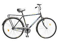 """Велосипед 28"""" ХВЗ УКРАИНА LUX, мод 64 серый (чешская втулка)"""