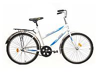 """Велосипед подростковый 24"""" ХВЗ TEENAGER модель 01-1 ХВЗ Бело-голубой"""