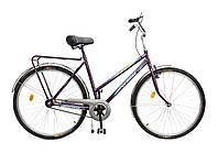"""Велосипед 28""""  ХВЗ УКРАИНА LUX, мод 65 бордовый (чешская втулка)"""