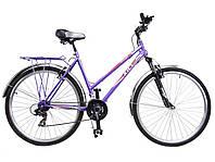 """Велосипед 28"""" ХВЗ ТУРИСТ 2821WDA  21 скорость, открытая стальная рама"""