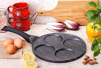 Cковорода для оладьев / панкейков Edenberg с антипригарным мраморным покрытием 27 см (EB-7513)