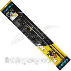 Набор спиннинг и катушка Shimano FX XT 1.80m 3-14g FX 1000FC Mono 0.235mm