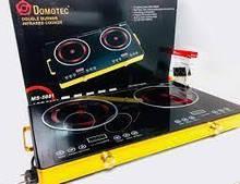 Плита электрическая на 2 конфорки инфракрасная настольная портативная 3500+3500Вт Domotec (MS-5881)