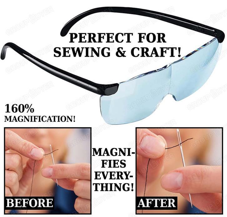 Увеличительные очки-лупа BIG VISION 160% для рукоделия, с доставкой по Киеву, Украине (ST)