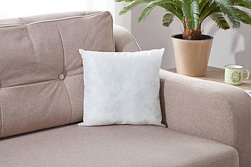 Подушка декоративна білого кольору