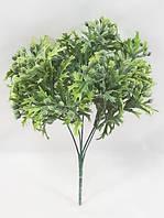 Зеленая брусника 30см,искусственный ягодный куст