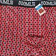 Удобные трусы боксеры мужские 50 размер (2XL) бамбуковые Doomilai красные, фото 2