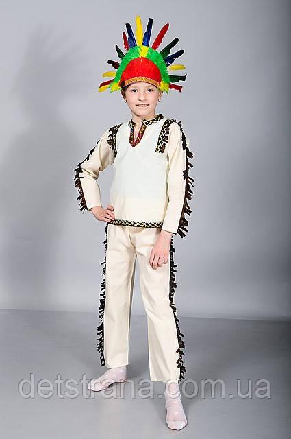 Детский Карнавальный костюм Индеец
