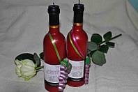Декоративная свеча ручной работы Вино