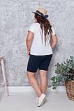 Літній костюм жіночий Турецька віскоза і двунітка Розмір 50 52 54 56 В наявності 3 кольори, фото 6