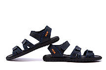 Чоловічі шкіряні сандалі Nike ACG Blue (репліка), фото 2