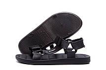 Чоловічі шкіряні сандалі Rider RX Black, фото 3
