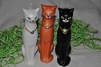 Декоративная свеча ручной работы Кошка