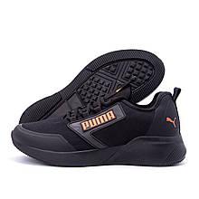 Мужские кроссовки Puma Retaliate Black GORE-Tex утепление (реплика)