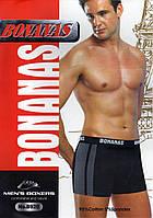 Мужские трусы боксеры х/б BONANAS B920 ТМБ-262