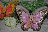 Декоративная свеча ручной работы Бабочка