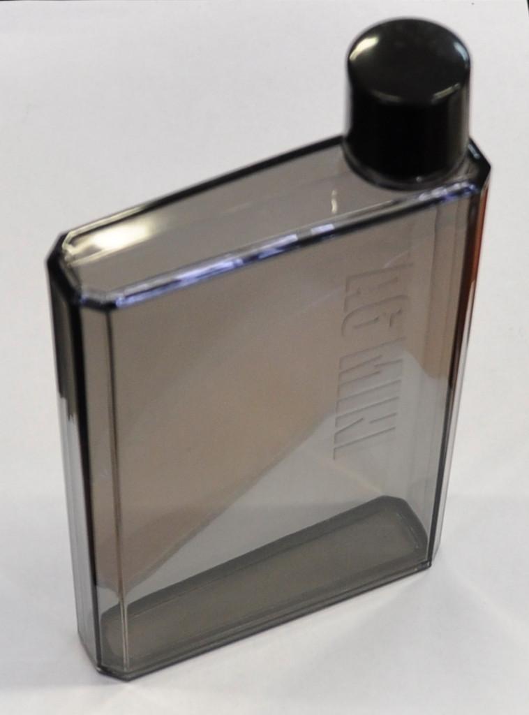Бутылка Memo Notebook размером А6 прозрачно-темный