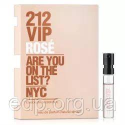 Carolina Herrera 212 VIP Rose - парфумована вода - пробник (віалка) 1.5 ml, жіноча парфумерія ( EDP59075 )