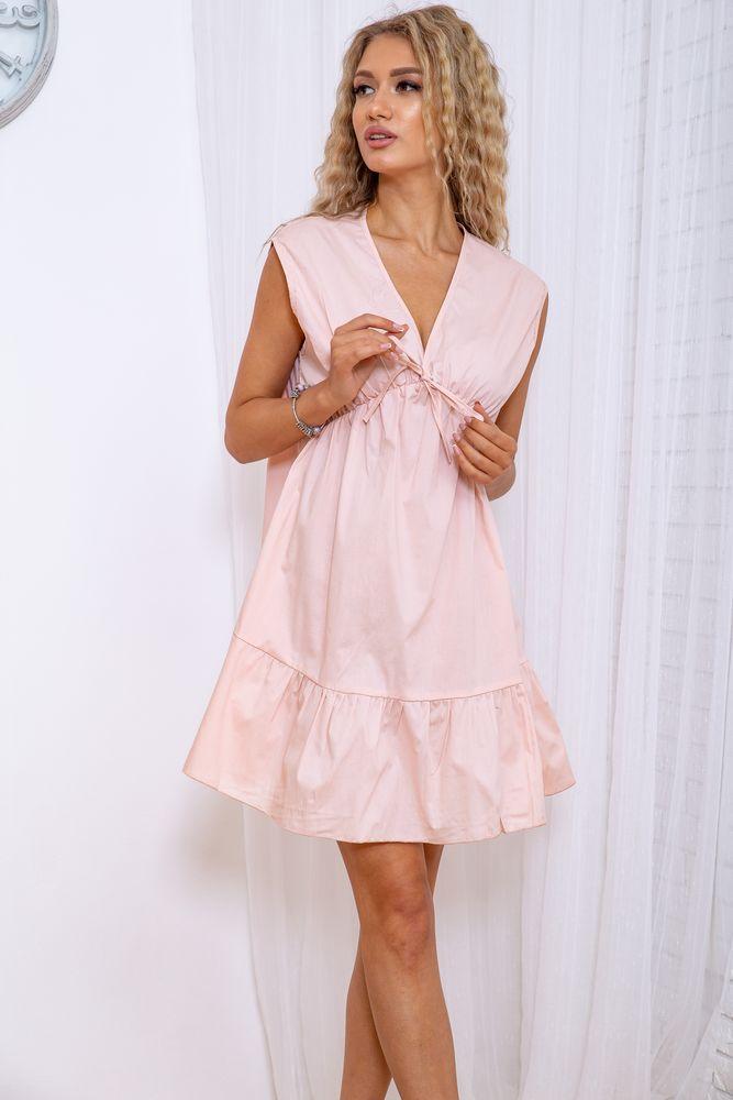 Сукня жіноча 115R411-6 колір Світло-рожевий