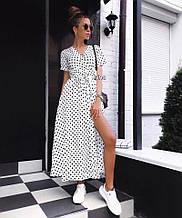 Женское платье, супер - софт, р-р С-М; Л-ХЛ (белый)