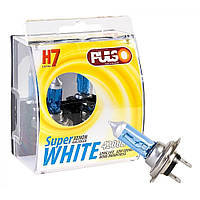 Галогенка H7 PULSO 12V 55W LP-72551 Super white/ пластик (пара)