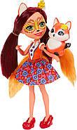 Лялька Энчантималс Лисичка Фелісіті Enchantimals Felicity Fox Doll, фото 4