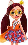 Лялька Энчантималс Лисичка Фелісіті Enchantimals Felicity Fox Doll, фото 6