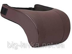 Подушка для шеи автомобильная с эффектом памяти  Коричневый