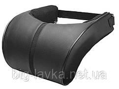 Автомобильная подушка для шеи с эффектом памяти  Черный