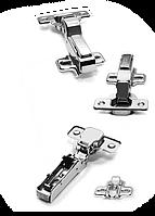 Петли с доводчиком clip-on с амортизатором soft-close (linken system)