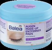 Влажные салфетки для снятия макияжа с экстрактом алое вера  Balea Augen Make-up Entfernerpads mit Aloe Vera