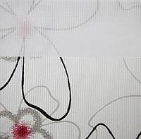 Рулонные шторы День-ночь Ткань Камелия Гранат