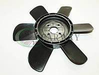 Вентилятор системы охлаждения (крыльчатка) Москвич 412 (6-ти лоп.) черная 412-1308008