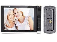 Домофон LUXURY 806 R2, цветной, память, SD, квартирный видеодомофон, домофон c цветным экраном