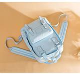 Рюкзак Doughnut Macaroon Pastel женский городской рюкзак голубой  Код 11-1004, фото 3