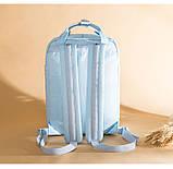 Рюкзак Doughnut Macaroon Pastel женский городской рюкзак голубой  Код 11-1004, фото 4