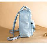 Рюкзак Doughnut Macaroon Pastel женский городской рюкзак голубой  Код 11-1004, фото 5