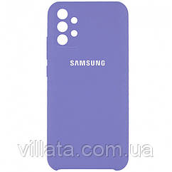 Уценка Чехол Silicone Cover Full Camera (AAA) для Samsung Galaxy A72 4G / A72 5G