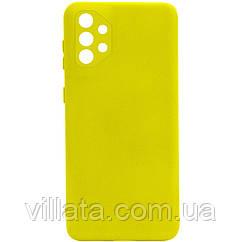Уценка Чехол Silicone Cover Full Camera without Logo (A) для Samsung Galaxy A32 4G
