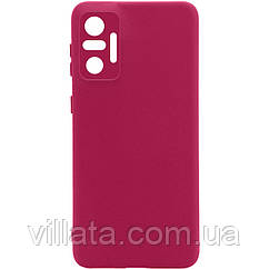 Чехол Silicone Cover Full Camera without Logo (A) для Xiaomi Redmi Note 10 Pro