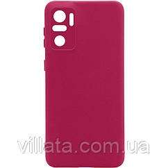 Чехол Silicone Cover Full Camera without Logo (A) для Xiaomi Redmi Note 10 / Note 10s