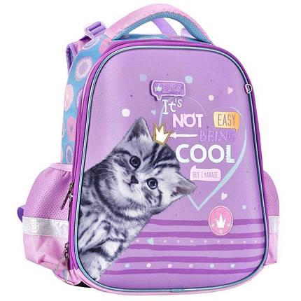Рюкзак 2111C каркасный CLASS SchoolCase Cool Cat 2 отделения 2111C, фото 2