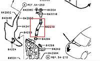 Трубка заливная бачка омывателя 8260A275 MITSUBISHI